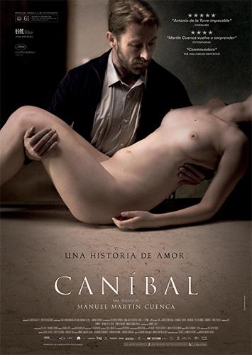 Cartel de Caníbal la película