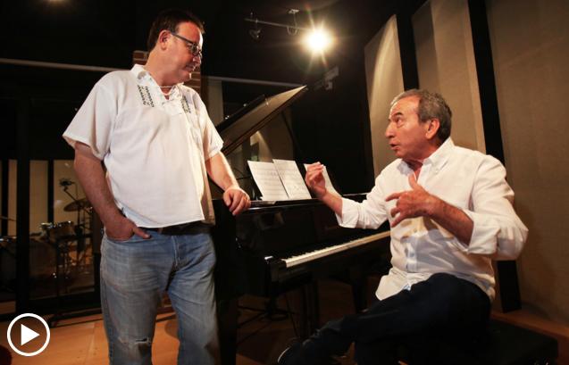 Jose Luis Perales y Manuel Martin Cuenca