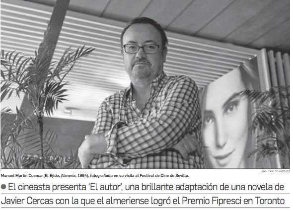 Manuel Martin Cuenca en el SEFF